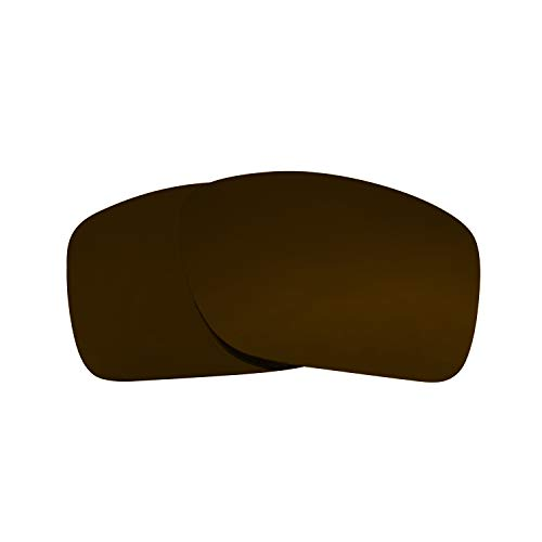 Replacement Lenses Compatible with OAKLEY TURBINE Polarized Bronze Brown