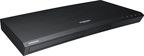 LG 3D Ultra High Definition WiFi Blu-Ray 4K Player with Remote Control, HDR Compatibility, Upconvert DVDs, Ethernet, HDMI, USB Port (Black)