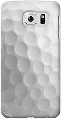 best sneakers 25d2b f38c4 Amazon.com: R2960 White Golf Ball Case Cover For Samsung Galaxy S6 ...