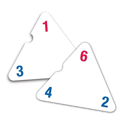 EAI Education Three-Sided Flash Cards: Addition and Subtraction: Toys & Games