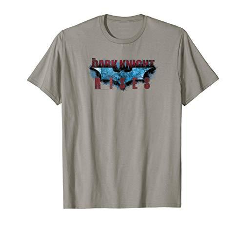 Batman Dark Knight Rises Rising Text T Shirt