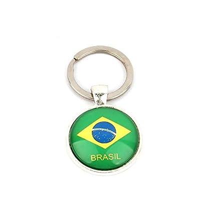 Shoppy Star - Llavero con diseño de la Copa del Mundo Brasil ...