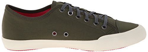 Seavees Dames 08/61 Army Issue Lage Nylon Fashion Sneaker Olive