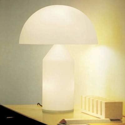 HNZZN Italia Moda Clásica Seta de cristal Lámpara de mesa ...