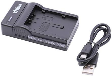 CARGADOR para Panasonic sdr-h60 sdr-h80 sdr-h90 Batería