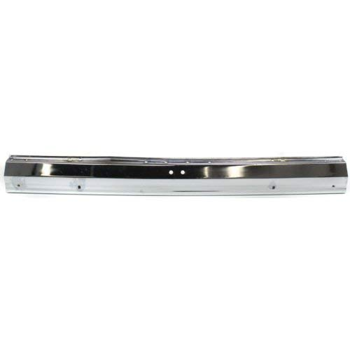 - Rear Bumper Compatible with JEEP CHEROKEE 1984-1996/WAGONEER 1984-1990 Chrome with Guard hls & Tow Hitch hls