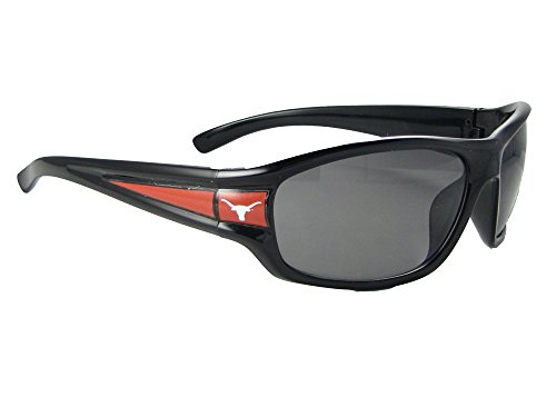 Texas Longhorns UT NCAA Black Sport Sunglasses - Ut Sunglass