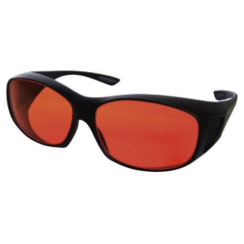 レーザ保護眼鏡 RSX-4/AR  ●適用波長範囲:400~515nm●光学濃度(OD値):6 B0787KRKKQ