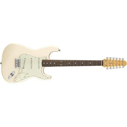 Fender FSR MIJ Traditional Stratocaster XII 12-String Electric Guitar (Olympic White) (Best Pickups For 12 String Electric Guitar)