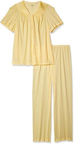 vanity-fair-womens-coloratura-sleepwear-short-sleeve-pajama-set-bananarama-medium