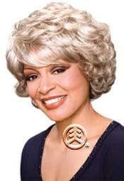 Foxy Silver Wig Lois Color: 1B