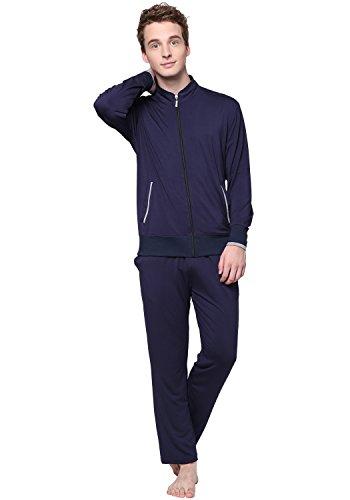 Godsen Men's Pajama Lounge Sets Long Sleeved Sweatsuit