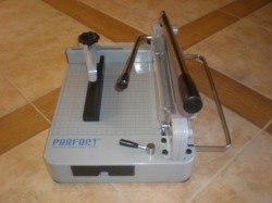 (TRADEMARKED) PERFECT G12 PRO Professional STACK Paper Cutter with extra cutting blade