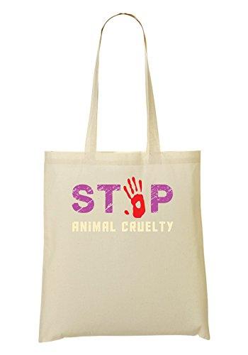 Stop Animal Cruelty Bolso De Mano Bolsa De La Compra