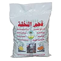 LEMON WOOD CHARCOAL SUPPLIES FOR HOOKAHS – 1kg bag of Non-quick light shisha coals for hookah pipes. All-natural coal accessories & parts that are Tasteless, Odorless, & Chemical-free.