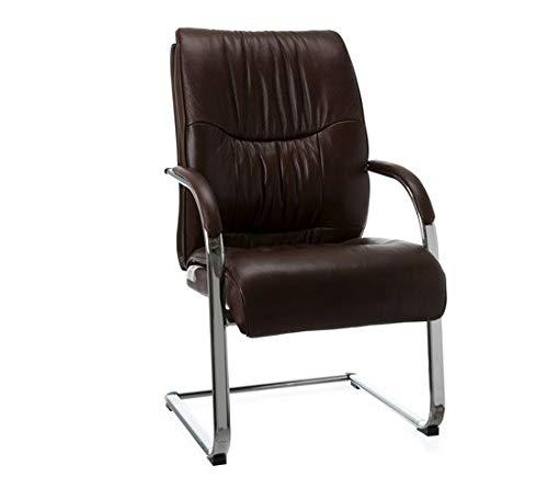 Cadeira Aproximacao Will Pvc/Couro Natural Marrom