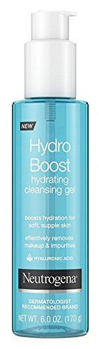 Neutrogena Hydro Boost Hydrating Cleansing Gel 6 Ounce (177ml) (3 Pack)