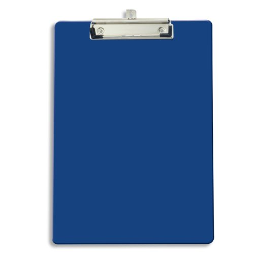 Officemate Recycled Clipboard, Blue, 1 Clipboard (83041) (With Clipboard Shoulder Strap)