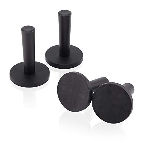 Ehdis 4pcs Car Wrap Black Gripper Magnet Holder for Sign Vinyl, Car Wrapping & Crafts Sign making Vinyl Tools ()