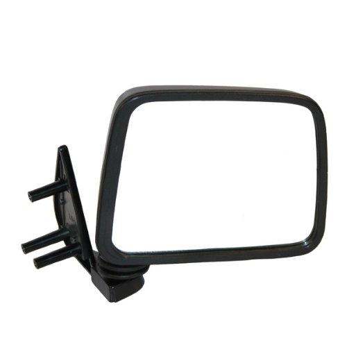 Koolzap For NEW Manual Black Door Mirror Right Passenger Side D21 Hardbody Pickup Truck ()