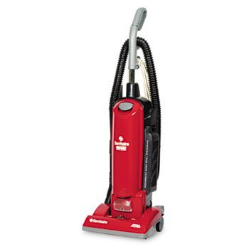 EUREKA Sanitaire True HEPA Upright Commercial Vacuum, Red (Case of 2) by Eureka