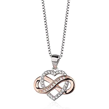 Aloha Jewelry Company Sterling Silver Celtic Heart with 18 Box Chain