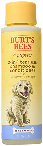 Burt's Bees for Dogs All-Natural Tearless 2 in 1 Shampoo and Conditioner | Best Shampoo &...