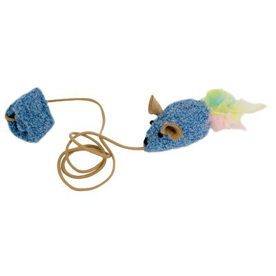 Our Pets Company Play N Squeak Kitten Wee Catch Of The Day Cat Toy