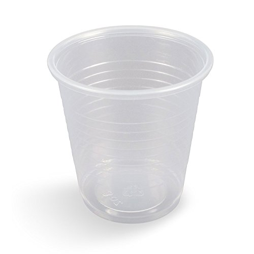 Settings Disposable Plastic Cups, 3 oz, 100 Count