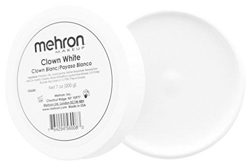 Mehron Makeup Clown White Makeup - (Professional Makeup For Halloween)