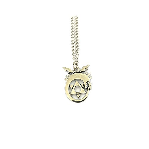 Anime Metal Necklace - FMA Fullmetal Alchemist Crunchyroll Anime Pendant Necklace With Gift Box from Outlander Gear