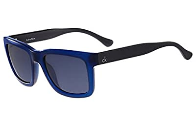 Calvin Klein CK 3179S 438 55 SHINY BLUE Sunglasses