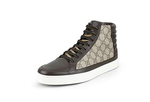 me High Top Sneaker, Brown/Beige (12 US / 11.5 UK) ()