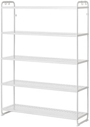 Ikea Mulig Regal In Weiss 120x34x162cm Amazon De Kuche Haushalt