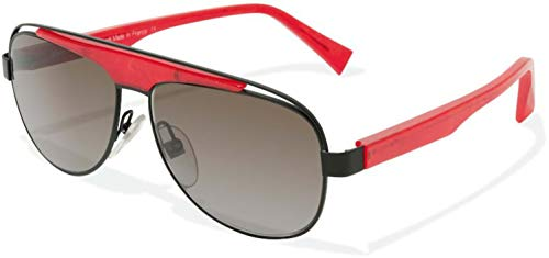 Sunglasses Alain Mikli A 1208 M05B Matt Black/Pearly Red