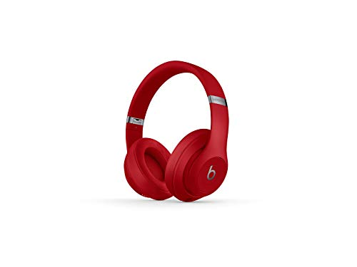 Beats Studio3 Wireless Noise Canceling Over-Ear Headphones - Red