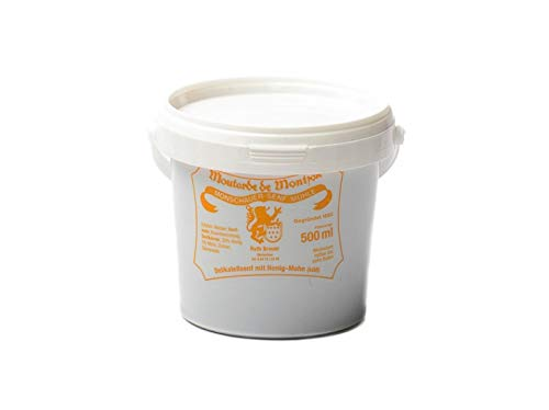 Honig-Mohn-Senf – Monschauer Senf – Moutarde de Montjoie – 500 ml Honing papaver Mosterd