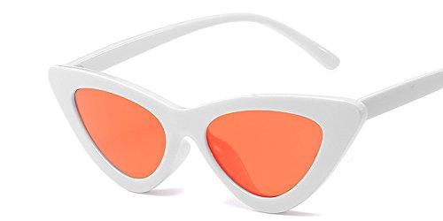 Gafas Mal Gafas Vintage Gafas De Sol Blanco Amarillo Whion Uv Matices Diseño Sol Orange De De Gafas De Mujer Gato Hembra Ojo C9 Sexy C10 TIANLIANG04 0Ezvq