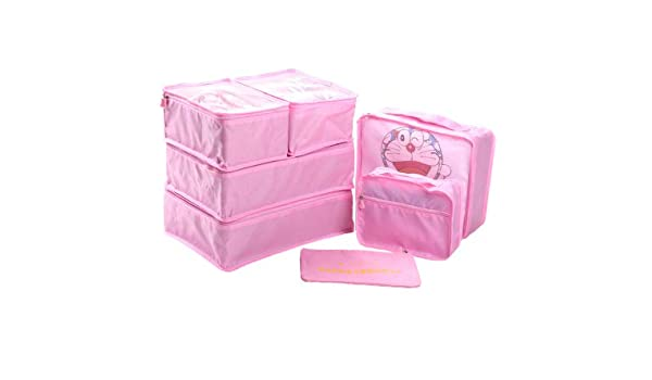 8d89c87332bb Amazon.com : Saasiiyo 7 Pcs/Set Travel Home Luggage Storage Bag ...