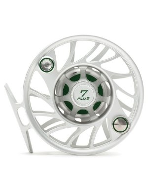 Hatch Gen 2 Finatic 7 Plus Fly Reel, Clear/Green, Large Arbor (Hatch Fishing Fly)