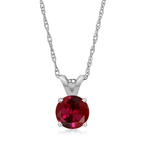 0.25 Ct Ruby Pendant - 4