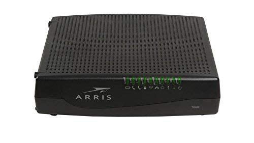 Arris TG862G Docsis 3.0 Telephont Gateway 802.11b/g/n 4-Port Wireless Modem Router (Renewed)