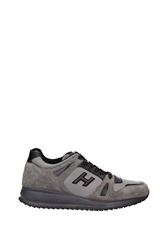 Hogan Sneakers interactive Uomo - Camoscio (HXM2460U871E6F) EU Grigio