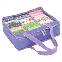 Quilters Fat Quarter Fabric Storage Bag Mini - Purple by Sew Easy