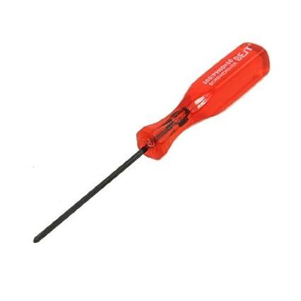 eDealMax 2 mm x 53 mm rosca roja de plástico Phillips Destornillador ...