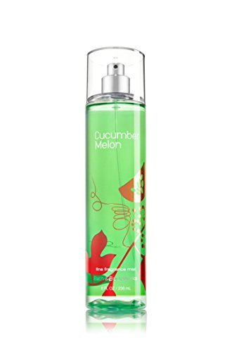 Melon Body Splash Cucumber - Bath & Body Works Cucumber Melon Fine Fragrance Mist, 8 Ounce