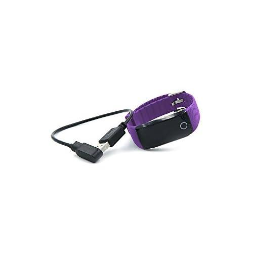 Jaxjox Unisexe Fitness Bracelet de fréquence cardiaque suivi d'activité, Violet