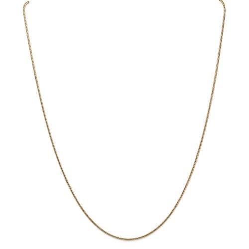 Roy Rose Jewelry 14K Yellow Gold 1.2mm Round Snake Chain Bracelet ~ Length 8'' inches 8' Snake Chain Bracelet