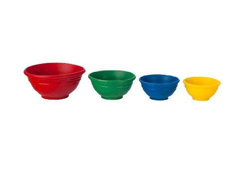 Le Creuset Small Silicone (Le Creuset Silicone Prep Bowls Set of 4, Multi-colored)