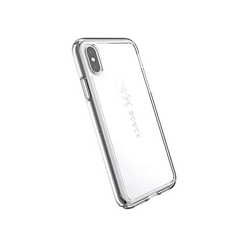 Rubberized Protective Shield - Speck Products GemShell iPhone Xs/iPhone X Case, Clear/Clear
